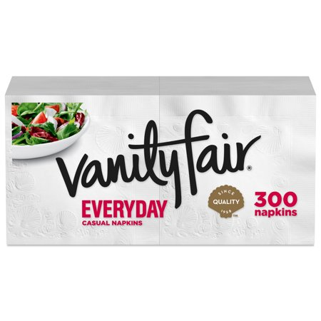Vanity Fair Everyday Paper Napkins, 300 count