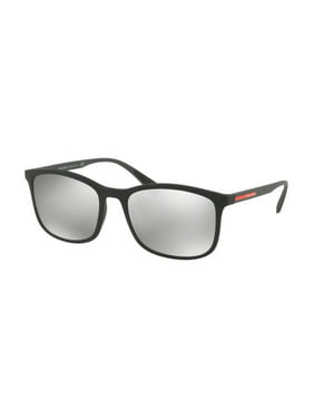 0b16594215f38 Product Image Sunglasses Prada Linea Rossa PS 1 TS DG02B0 BLACK RUBBER