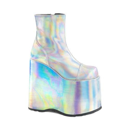 Women's Demonia Slay 204 Platform Ankle Boot by Demonia