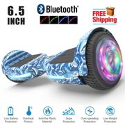 """UL2272 Certified TOP LED 6.5"""" Hoverboard Two Wheel Self Balancing Scooter Baby Shark"""