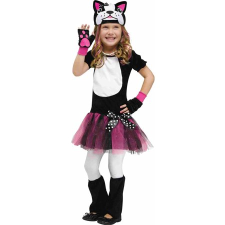 Girls French Bulldog Toddler - Costumes For French Bulldogs