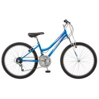 Pacific Girl's Tide Mountain Bike, 24-Inch, Blue