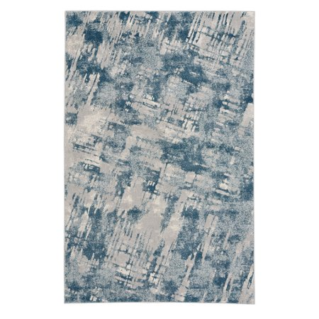 Capel Rugs - Kevin O'Brien Sketch Rectangle Machine Woven Rugs - Blue