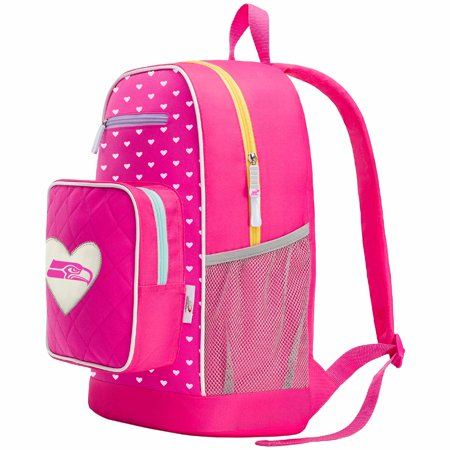 The Northwest Company Seattle Seahawks Fanclub Backpack - No Size](Pink Seahawks)