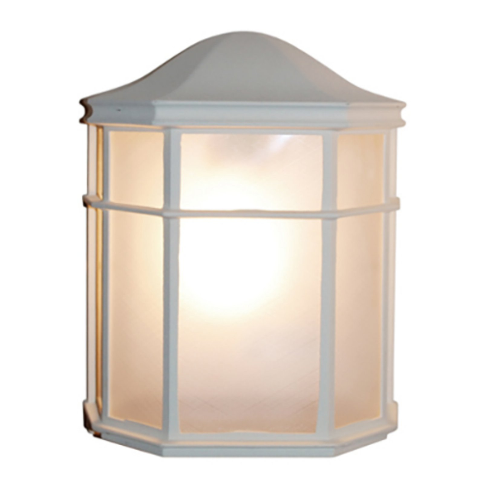 Trans Globe Lighting Andrews 4484 WH Outdoor Pocket Lantern