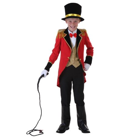 Child Ringmaster Costume - Mens Ringmaster Costume