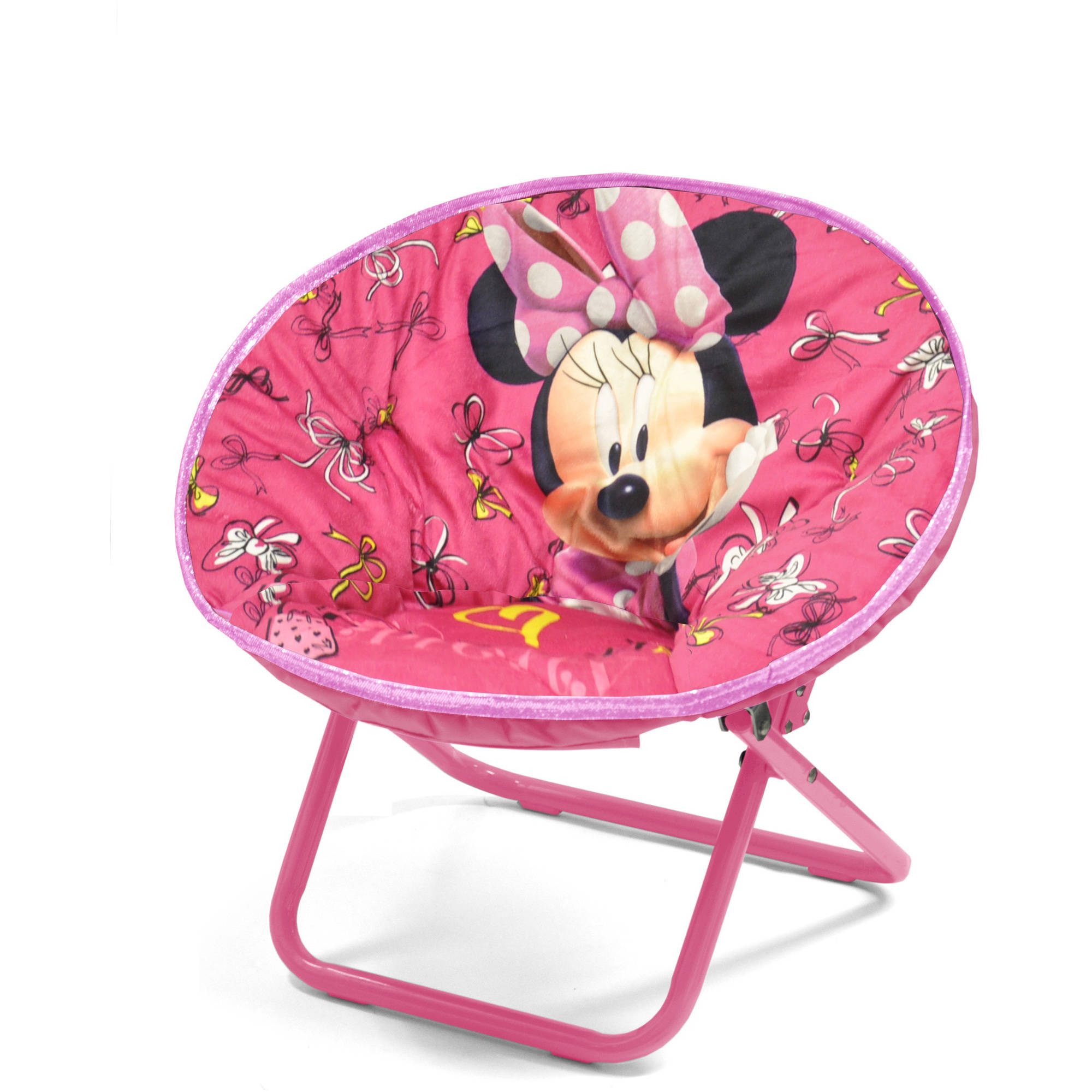 Disney Minnie Mouse Saucer Chair Walmart