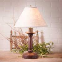 Butcher's Lamp in Americana Red with Shade