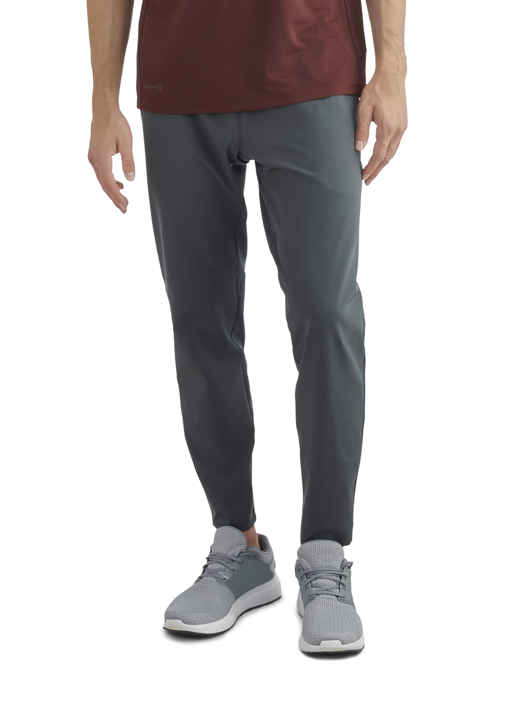 Russell Men's Mixed Media Pants