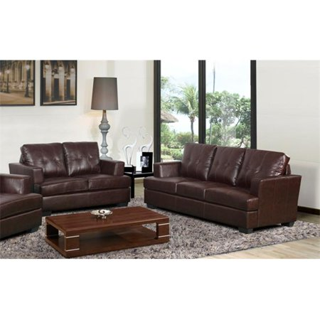 Beverly Fine Furniture Deliah Minimalist Bonded Leather