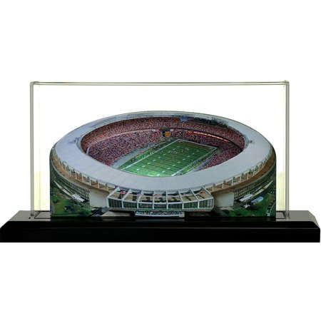 "Washington Redskins RFK Field 9"" Replica Stadium with Case - No Size"