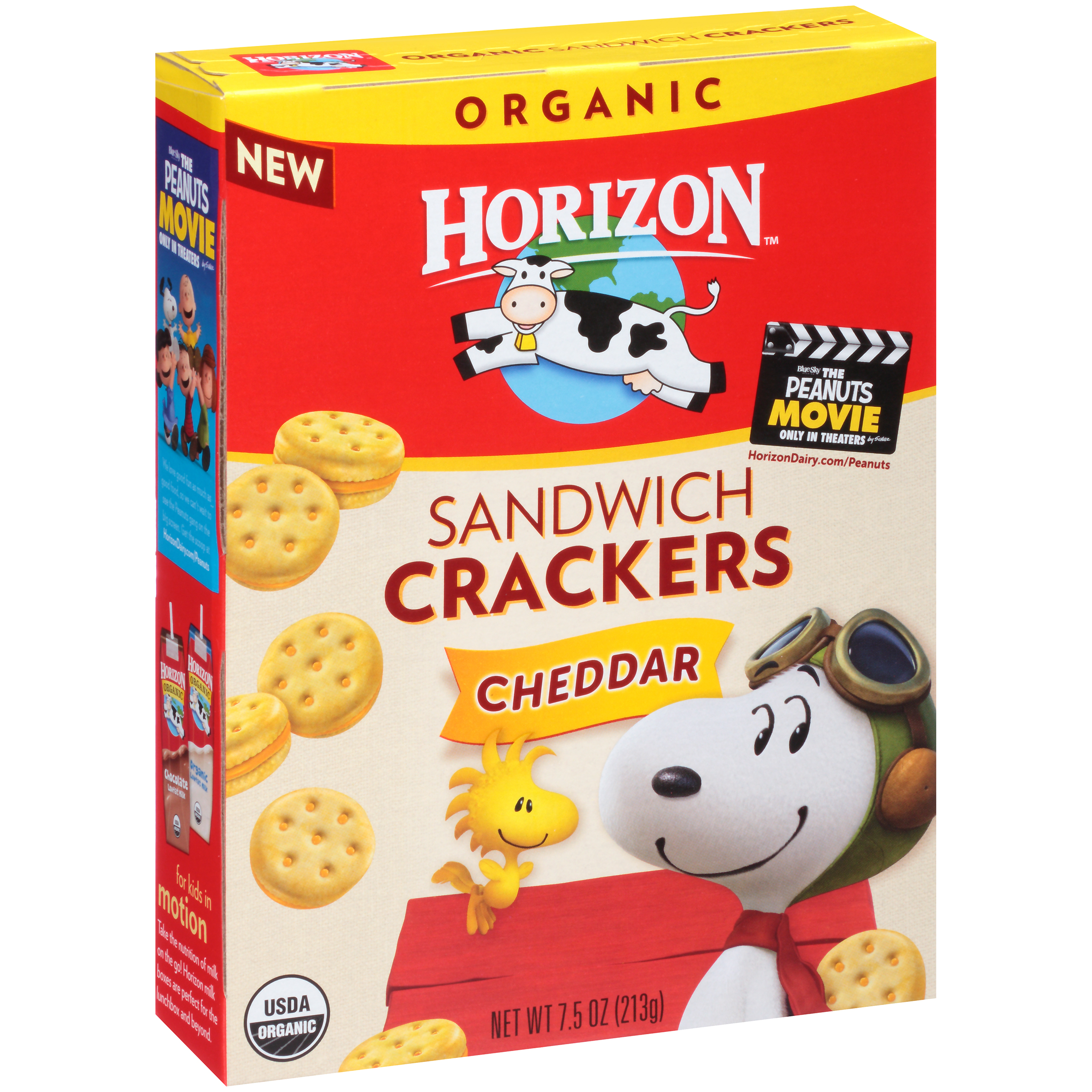 Horizon? Organic Cheddar Sandwich Crackers 7.5 oz. Box