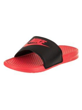 b05a5c36bc4b4 Product Image NIKE Womens Wmns Benassi JDI Sandals Hyper Punch Black Size 11