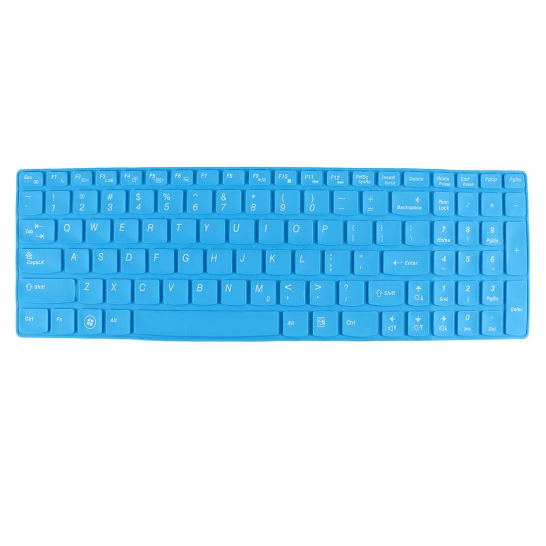 Unique Bargains Laptop Keyboard Protector Film Sky Blue for Lenovo Ideapad Z560/B570/B575/Y570D