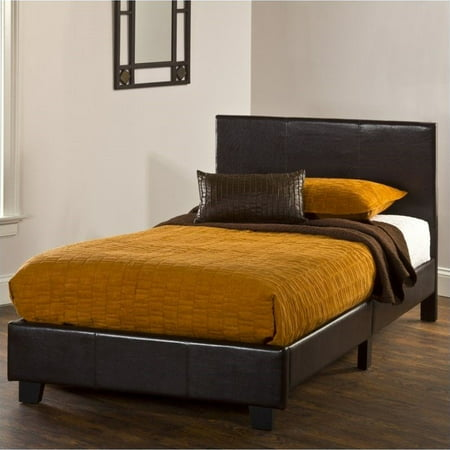 Hillsdale Furniture Springfield Twin Bed In A Box Set Brown