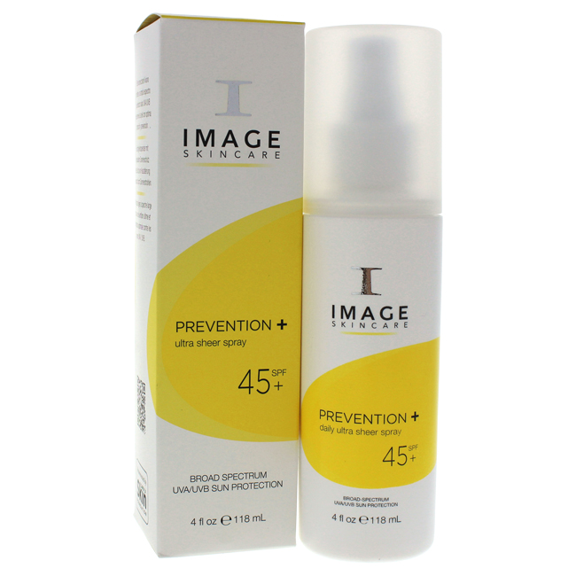Prevention+ Ultra Sheer Spray SPF 45 by Image for Unisex - 4 oz Sunscreen - image 1 de 1