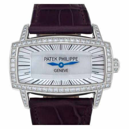 Pre-Owned Patek Philippe Gondolo 4981G-00 Gold Women Watch (Certified Authentic & Warranty)