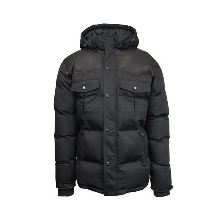 Mens Bomber Puffer Jacket