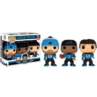 NFL Funko POP! Sports Greg Olsen, Cam Newton & Luke Kuechly Vinyl Figure 3-Pack