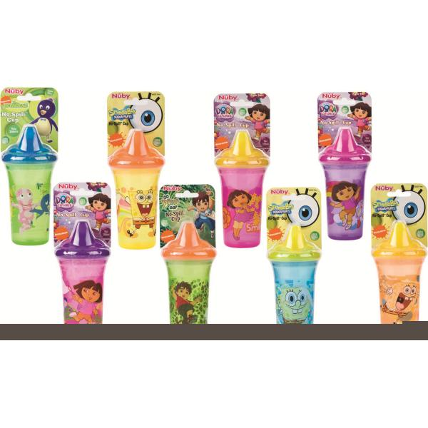 Nuby No-Spill Nickelodeon Sipper Cup (pack Of 24)