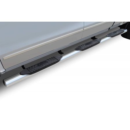 Raptor Series 1999-2016 Ford F250 F350 6.5ft Bed 2000-2016 F350 Super Duty Crew Cab 8ft Bed Dually Polished Stainless Steel Rocker Panel Mount 4