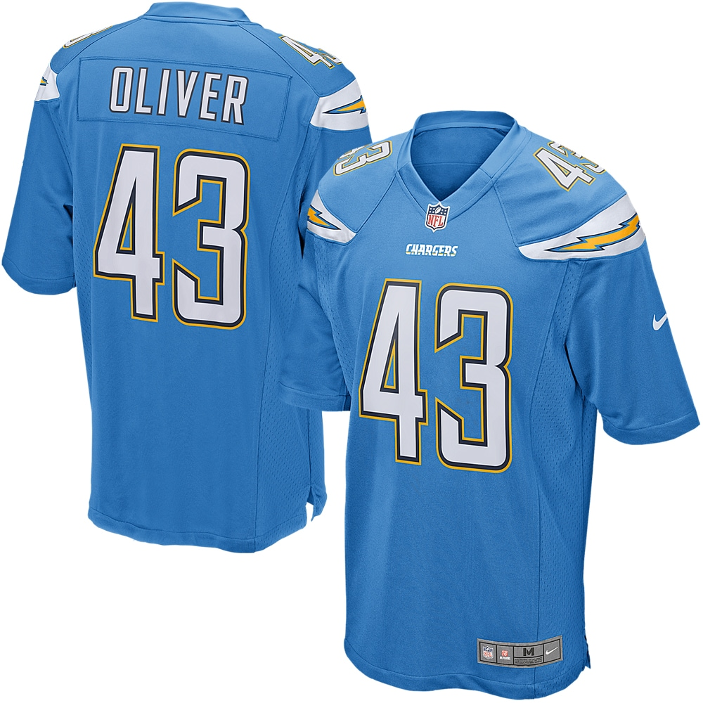 Branden Oliver Los Angeles Chargers Nike Youth Alternate Game Jersey - Powder Blue - Walmart.com