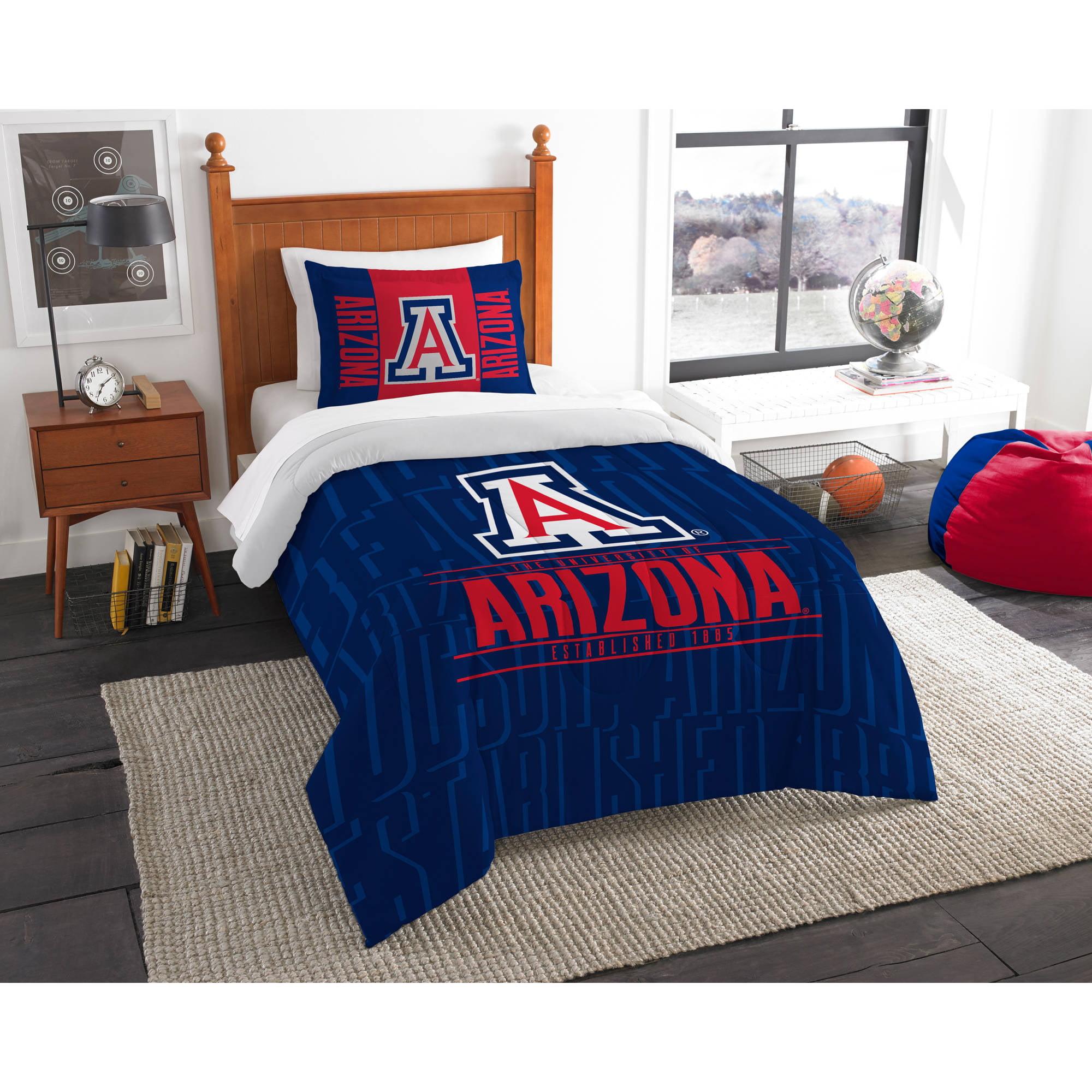 "NCAA Arizona Wildcats ""Modern Take"" Bedding Comforter Set"