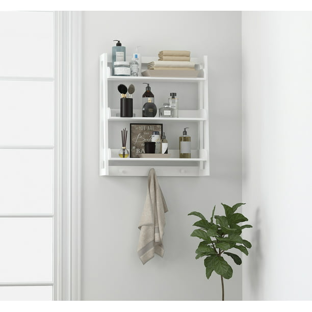3 Tier Bathroom Shelf Wall Mounted
