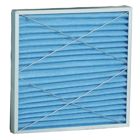 High Capacity Pleated Filter,24x24x2 DAYTON 2HNT5