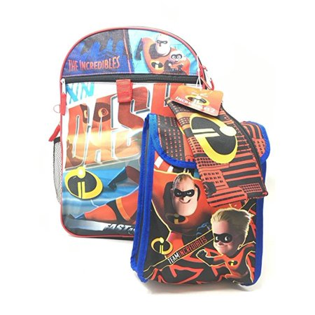 Incredibles (DASH) 5-Piece Backpack Set