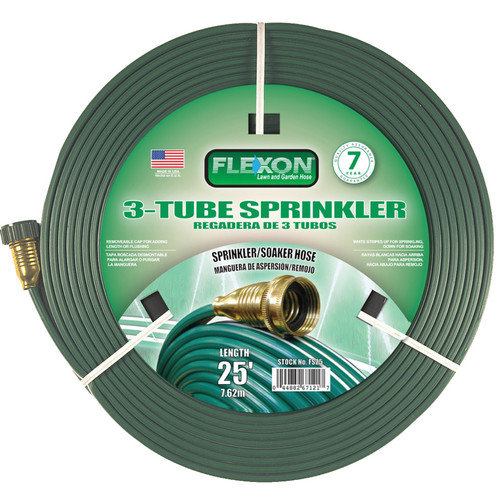 Sprinkler Hose,3-Tube 25'