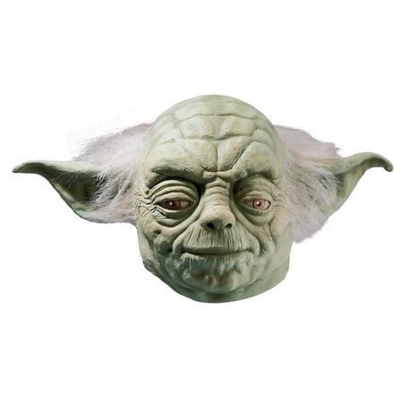 Full Yoda Mask - Yoda Masks