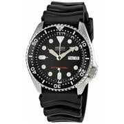Seiko Men's Automatic SKX007K Black Rubber Japanese Sport Watch