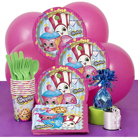 Shopkins Party Supplies Kit for 8 (Party Suplies)