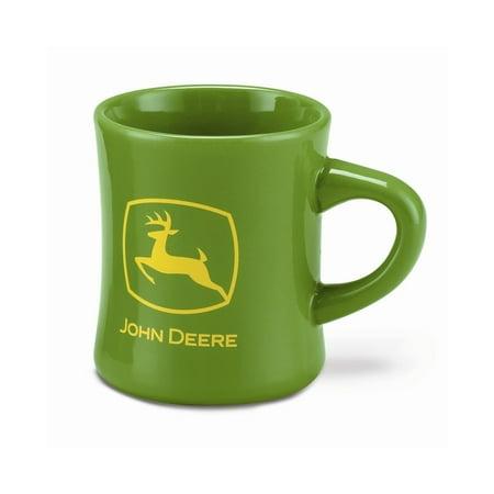 Stoneware John Deere Logo Diner Mug