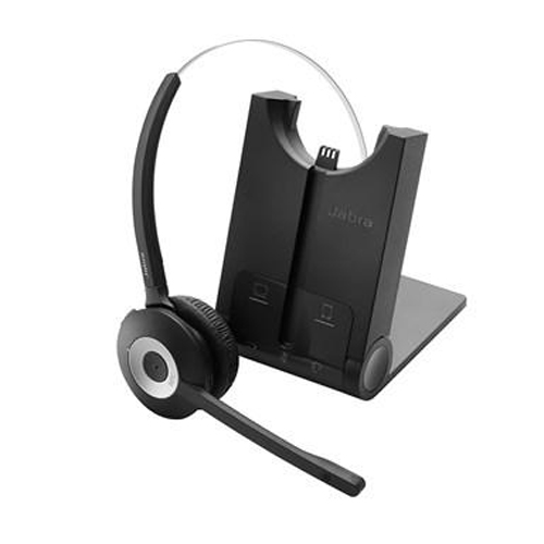 Jabra PRO 935 DC MS Mono Wireless Headset w/ Noise-Canceling Microphone & Bluetooth 4.0