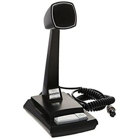 Astatic High Quality Amplified Ceramic Desk Microphone Multi-Colored