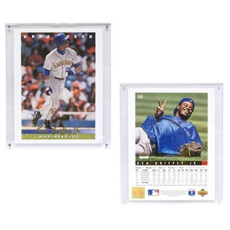Seattle Mariners Ken Griffey Jr 8x10 Upper Deck Blow Up Card With Acrylic Display
