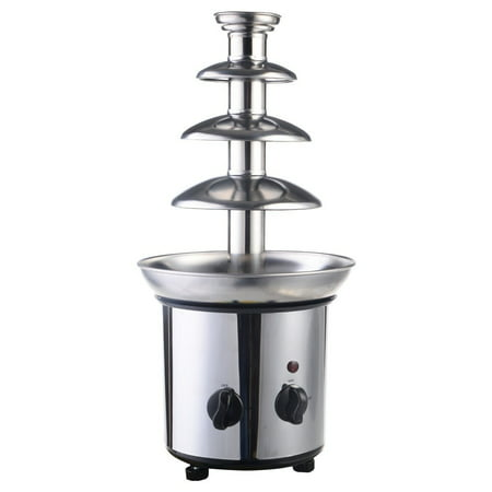4 Tiers Commercial Stainless Steel Hot New Luxury Chocolate Fondue