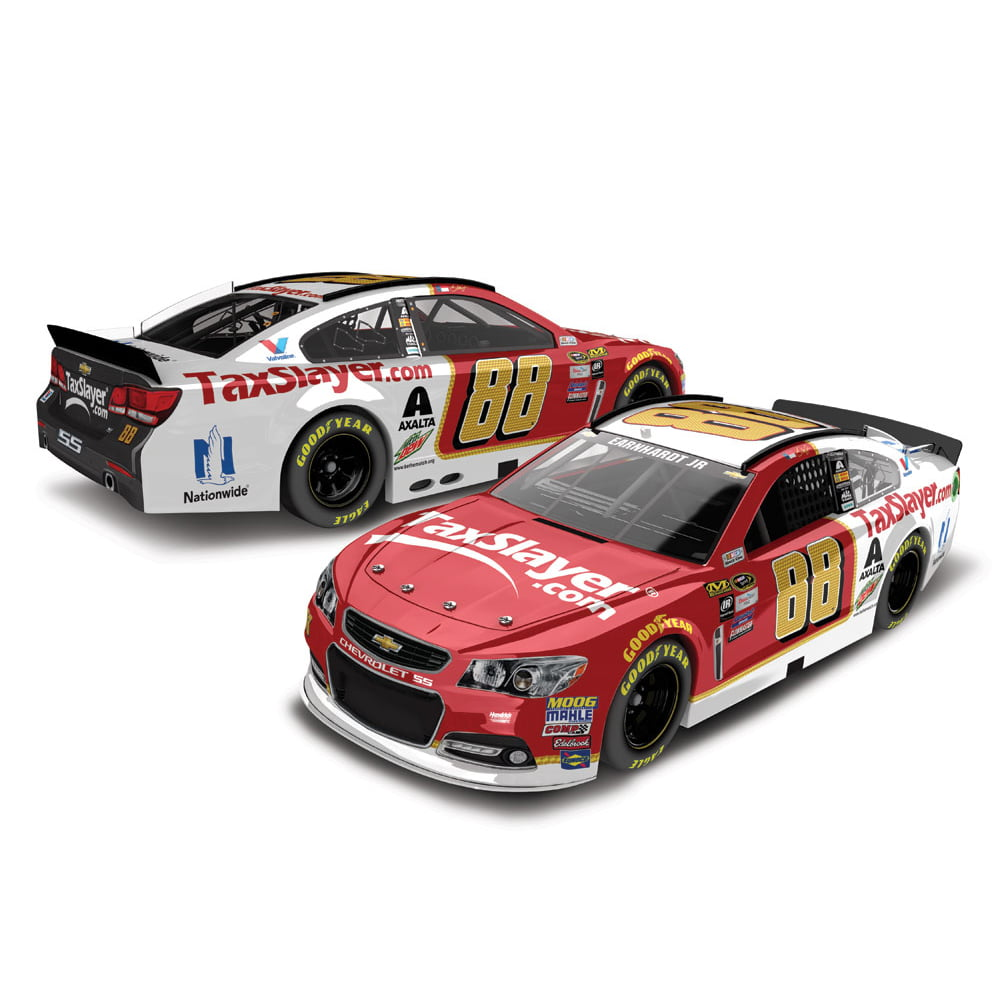 Dale Earnhardt Jr. Action Racing 2016 #88 Taxslayer 1:24 Nascar Sprint Cup Series Platinum... by Lionel LLC