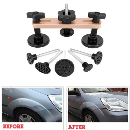 【Gifts for Him】Paintless Dent Repair Tools Removal Kits Pops a Bridge Puller for Car Auto Body Dent Hail Damage Remover (Dent Repair Removal Auto Body)