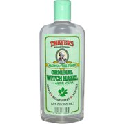 Thayers Witch Hazel with Aloe Vera, Alcohol Free, Original 12 oz (Pack of 2)