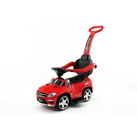 Mercedes Sl500 Convertible - MERCEDES GL63 KIDS CONVERTIBLE RIDE ON PUSH AND FOOT TO FLOOR CAR | RED