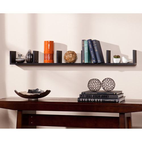 Ithaca Floating Shelf, Black