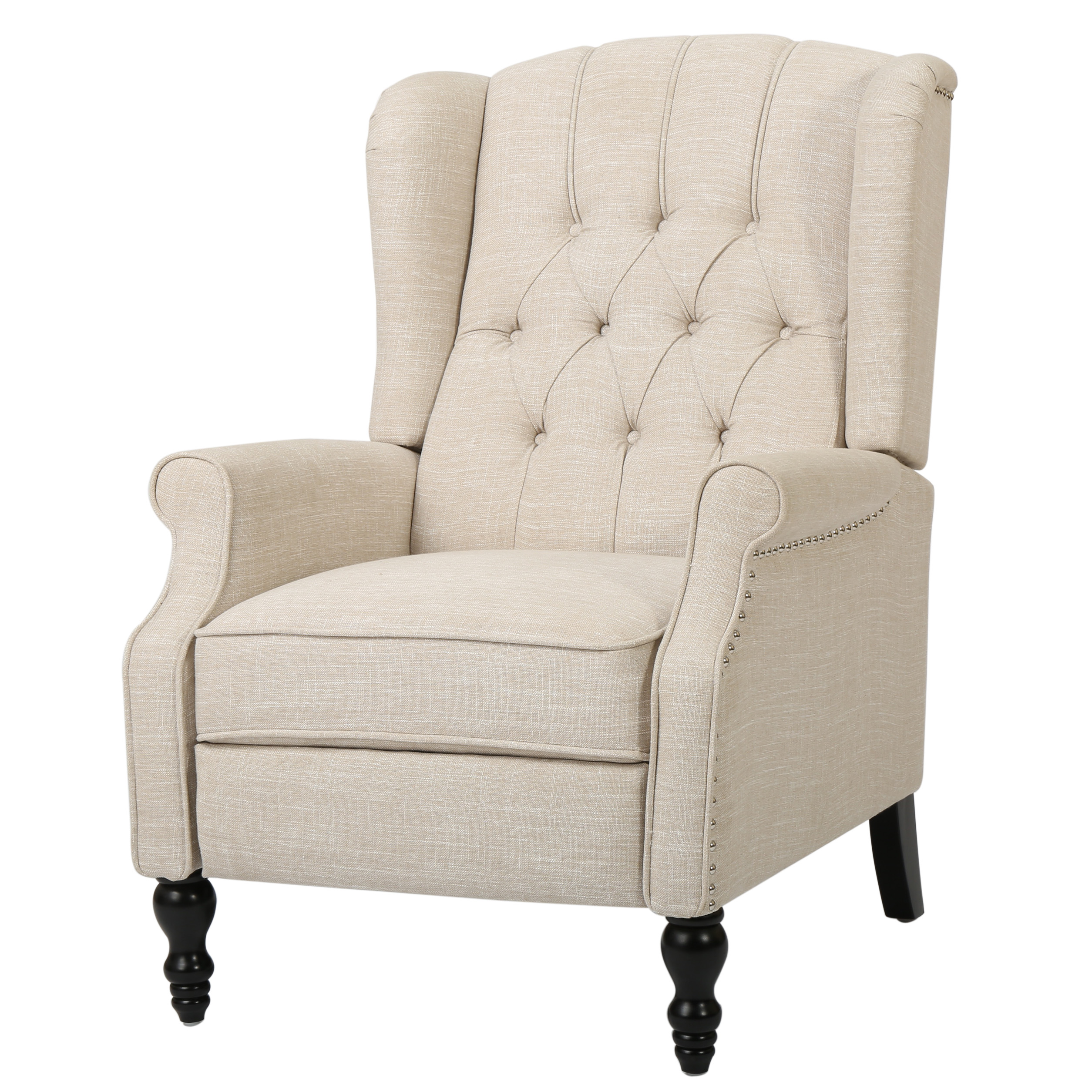 Meyer Recliner, Light Beige