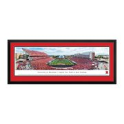 """Maryland Terrapins 18"""" x 44"""" Deluxe Frame Panorama Wall Art"""