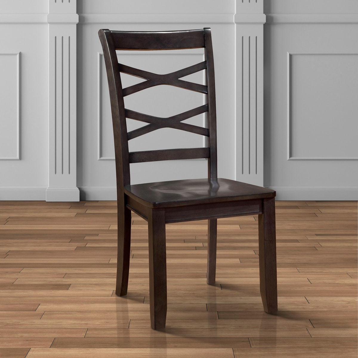 Exceptional Furniture Of America Crane Country Style X Back Dining Chairs (Set Of 2)    Walmart.com