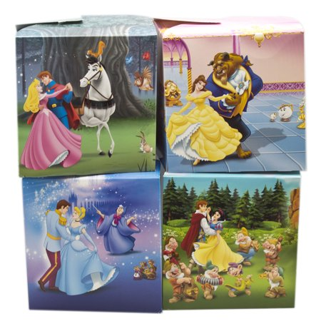 Disney Princess Assorted Character Design Small Size Gift Boxes 2pc