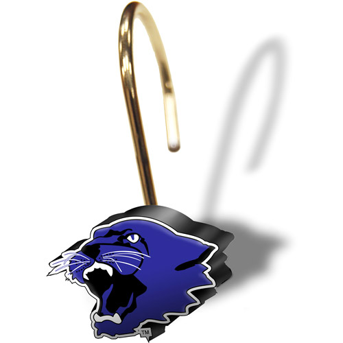 NCAA Kansas State Wildcats Shower Curtain Rings, Set of 12