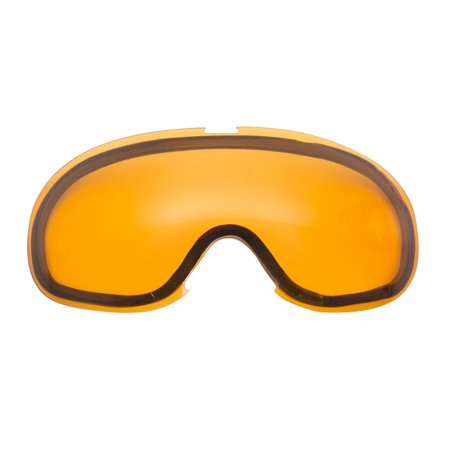 CKX Dual Goggles Lens Blaze Spherical, Double Men, (Amber Lens Goggles)